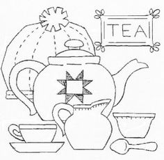 ♥♥♥  For the top of a tea box, perhaps?   :)