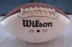Wilson Football Vintage Art & collectible by shoponwebstreet