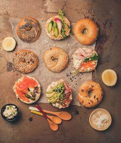 Food Stylist | Cape Town Bagel Bar, Creme Fraiche, Cape Town, Carrots, Stylists, Brunch, Frozen, Fresh, Vegetables
