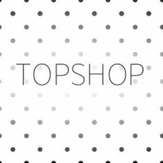 Spotty Topshop Logo #topshoppromqueen
