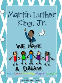 This unit is a great way to teach your students about Martin Luther King, Jr. $