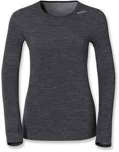 Odlo Female Revo Warm Crew Long Underwear Top - Women's