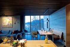Warmes Holz Trifft Auf Kalte Grautöne U2013 Ein Ferienhaus In Norwegen