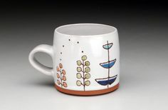 this cup is handmade perfection! I adore it!! Created by http://courtneymurphy.etsy.com #handmade #etsy #ceramics