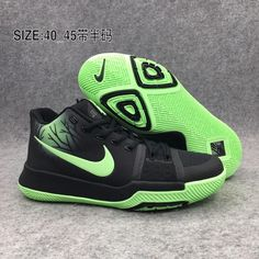 cheap for discount 8b603 99b50 Nike Kyrie 3 Basketball Chaussures Homme Noire Vert