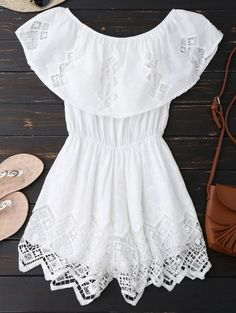 SHARE & Get it FREE | Lace Trim Cut Out Off Shoulder RomperFor Fashion Lovers only:80,000+ Items • New Arrivals Daily • FREE SHIPPING Affordable Casual to Chic for Every Occasion Join Zaful: Get YOUR $50 NOW!