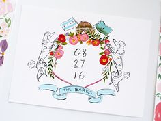 malibu wedding, saddle rock map illustration by Laura Shema for Jolly Edition by @jollyedition