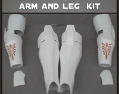 Jedi Armor Arm and Leg Star Wars Costume Prop Kit