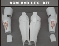 Jedi Armor Arm and Leg Star Wars Costume Prop Kit