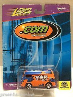 "(TAS008729) - Johnny Lightning "".Com Racers"" Race Cars"