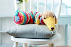 Crochet dog draught excluder Crochet Pattern