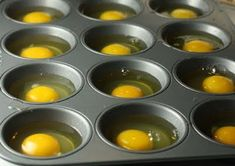Carolina Charm: Breakfast Sandwiches. Put eggs in greased muffin tin for 15-20 minutes at 350. Great for making breakfast or bunch for guests or a large family.