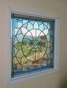 Beautiful Lotus window