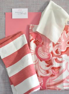 Love stripe with print....Love coral colors!!!!!