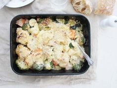 Vegetable Bake with Cheese Sauce Recipe