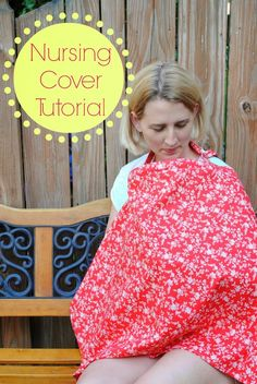 "A couple of weeks ago, I guest posted at Domestic Superhero while Allyson is on her maternity leave. In celebration, I thought I would stick to a ""baby/new mom"" topic. I've shared on this blog my nursing covers, but I hadn't yet created a tutorial. So, here it is… my Nursing Cover Tutorial. And don't worry, if you are new to sewing, this is a"