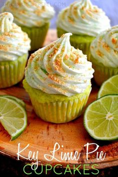 Key Lime Pie Cupcakes | 23 Glorious Cupcakes Inspired By Other Desserts