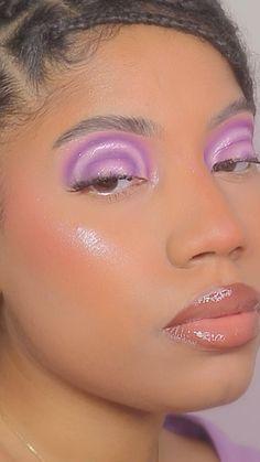 Makeup Eye Looks, Beauty Makeup, Hair Makeup, Hair Beauty, Baddie Makeup, Creative Eye Makeup, Aesthetic Makeup, Makeup Routine, Makeup Videos