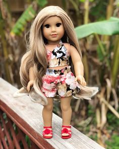 Your place to buy and sell all things handmade Ropa American Girl, American Girl Doll Costumes, American Girl Doll Julie, Custom American Girl Dolls, American Girl Doll Pictures, American Girl Clothes, Girl Doll Clothes, American Girl Accessories, America Girl