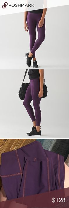 NWT🕉Lululemon🕉Like Nothing 7/8 Tight NWT🕉Lululemon🕉Like Nothing 7/8 Tight in Darkest Magenta. These tights are made with minimal seams and pockets. NULUX fabric is quick drying, sweatwicking, and offers lightweight coverage. Added Lycra for stretch. Hem is seamless and smooth streamlined fit. No front seam, high rise, naked sensation back waistband pocket. These pants are CRAZY smooth and sexy on! Ships with free lulu bag😍 please check out my other listings and reviews - both are…