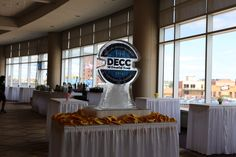 Ice sculptures by Chef Paul, DECC, Duluth, MN