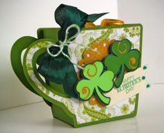 A Cup O' Cheer for St. Patrick's Day! LW svg cut with the Explore