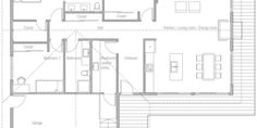 affordable homes 40 housse plan Narrow House Plans, Pole Barn House Plans, Simple House Plans, Bungalow House Plans, Cottage House Plans, Best House Plans, Modern House Plans, House Floor Plans, Building A Container Home