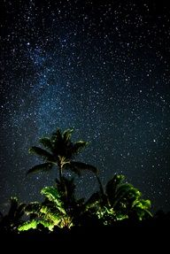 The Milky Way in Maui