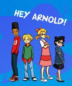 Hey Arnold by gabzillaz.deviantart.com on @deviantART