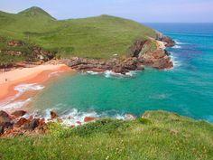 Playa de Santa Justa en #Ubiarco | #Cantabria | #Spain. Turismo Rural.