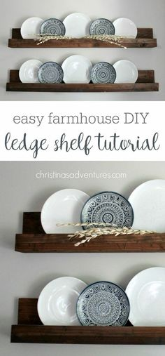 Diy Simple, Easy Diy, Simple Style, Easy Crafts, Decorating Your Home, Diy Home Decor, Decorating Jars, Decor Crafts, Wood Crafts