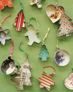 Cookie cutter ornaments +25 Beautiful Handmade Ornaments - NoBiggie.net