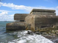 A bunker constructed during the German occupation of Denmark during WW2.