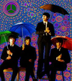 The Beatles - Graphic by BeatleLinda  :)