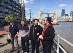 In London for the episode that is airing this Thursday on TruTv