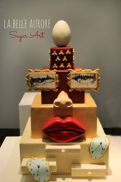 Salvator Dali' - by LaBelleAurore @ CakesDecor.com - cake decorating website