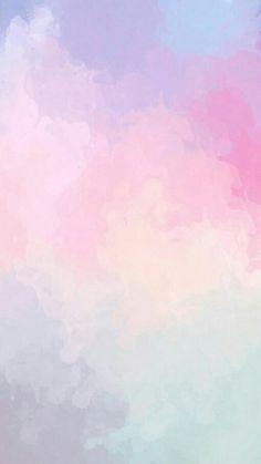 Pin by sarah ♡ on *wαllpαpєr* ❥ in 2019 fond ecran iphone, arrière plan, fo Wallpaper Pastel, Aesthetic Pastel Wallpaper, Iphone Background Wallpaper, Painting Wallpaper, Trendy Wallpaper, Galaxy Wallpaper, New Wallpaper, Watercolor Background, Screen Wallpaper