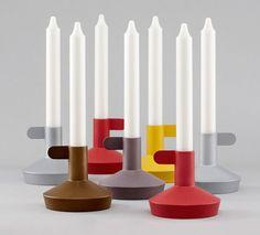 Flag Candlestick by Jonas Wagel for Normann Copenhagen