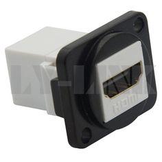 D type métal HDMI femelle à connecteur femelle