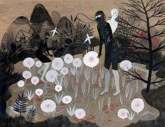 "paganlovefest: "" Betsy Walton - Moon Lake """