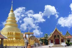 Temples Tour in Lamphun and Lampang #Thailand