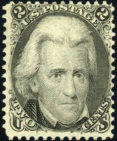 Andrew Jackson2 1862 Issue-2c - U.S. presidents on U.S. postage stamps - Wikipedia, the free encyclopedia