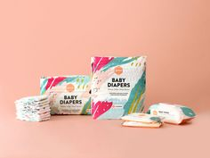Parasol Co Diaper Subscription Packaging on Behance Gripe Water, Zeina, My Little Baby, Box Packaging, Product Packaging, Kids Packaging, Packaging Design Inspiration, Baby Bottles, Baby Shop