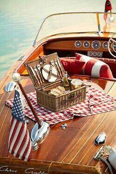 Boating Picnic