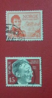 Stamps: Stamps on Norway