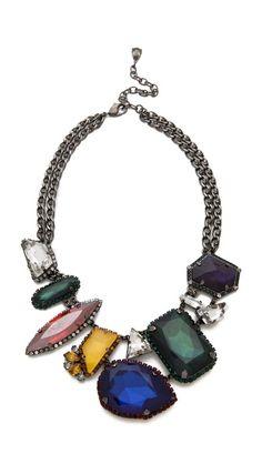 Erickson Beamon |Swarovski crystal necklace