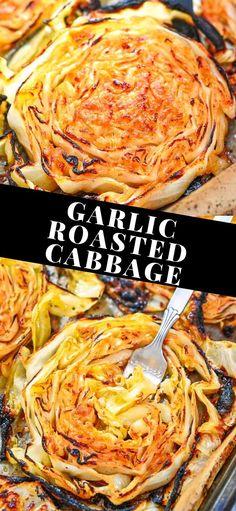 Cabbage Recipes, Beef Recipes, Vegetarian Recipes, Cooking Recipes, Vegan Vegetarian, Vegetarian Cabbage, Veggie Side Dishes, Vegetable Dishes, Side Dish Recipes