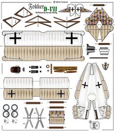 flown by Herman Goring Paper Airplane Models, Model Airplanes, Paper Models, Paper Toys, Paper Crafts, Pumpkin Coloring Pages, Airplane Drawing, Paper Aircraft, House Template