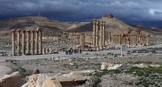 Foreign media: IS militants evacuated in Syria ancient cultural relics around the mine