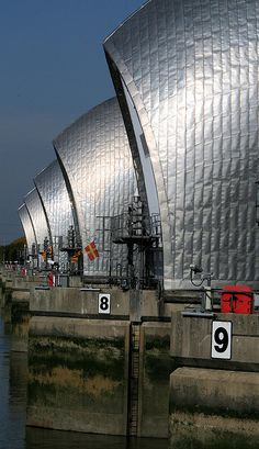 Thames Barrier  London   by ruthhallam, via Flickr